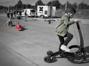 Urban Funsporten met de funbox. Plezier in bewegen voor kids, pubers en volwassenen